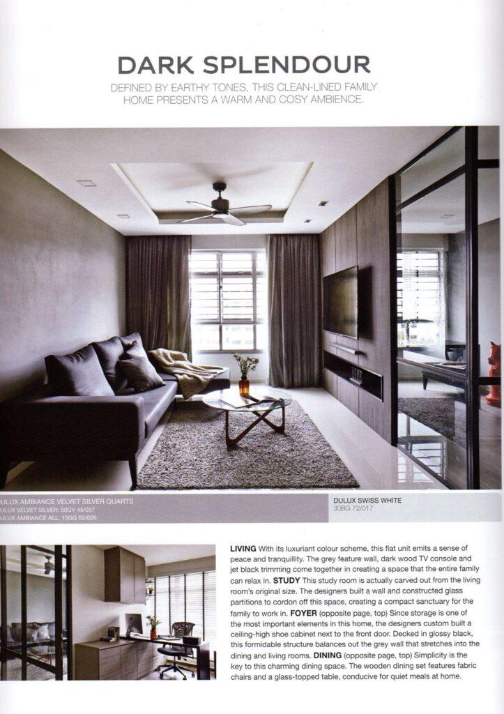 Press Article in Interior Design Magazine